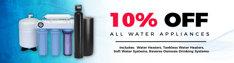 Water Appliances Discount offer